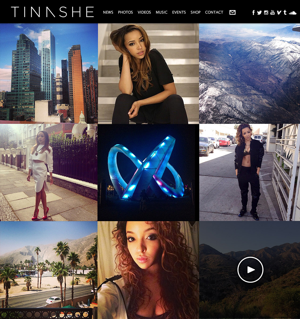 Pin Tinashe Kachingwe Wallpaper on Pinterest