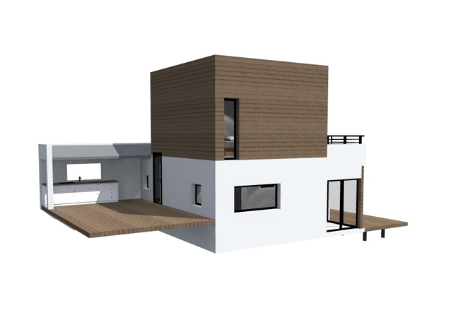 petite maison bois md. Black Bedroom Furniture Sets. Home Design Ideas